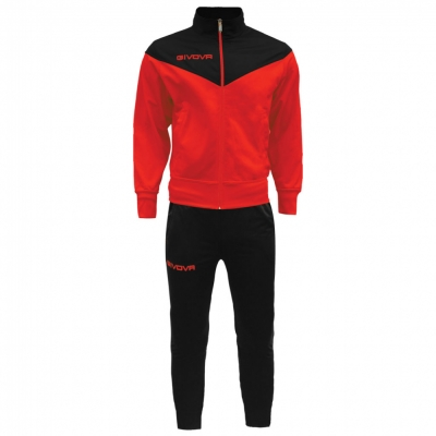 Treninguri sport TUTA VENEZIA Givova rosu negru