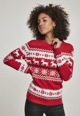 Bluza de trening Norwegian Christmas pentru Femei Urban Classics