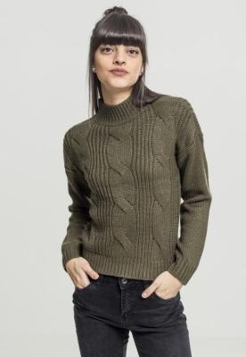 Bluza de trening Short Turtleneck pentru Femei Urban Classics