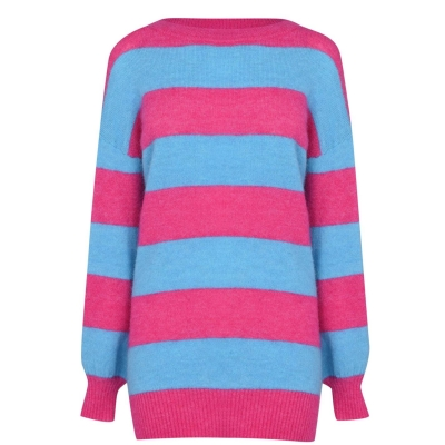 Jack Wills Bowland Stripe Knitted Jumper With Wool