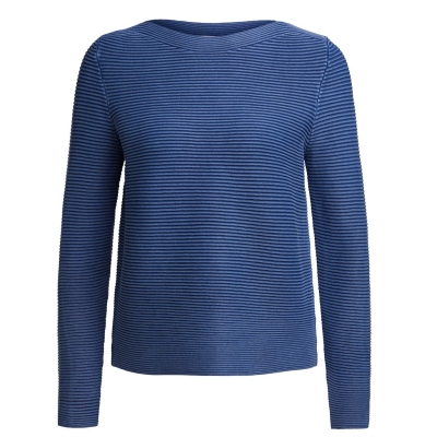 Oui Ribbed Crew Jumper