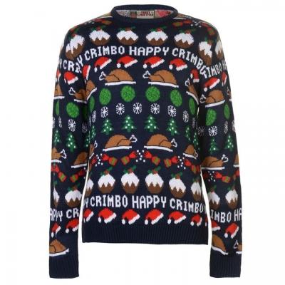 Star Christmas Knit Jumper pentru Barbati