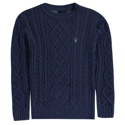 Gant Elevated Cable Knit Jumper