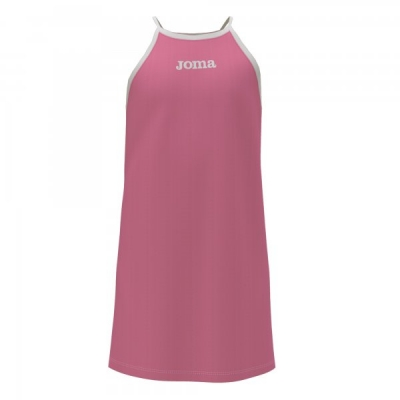 Rochie Carabassi Pink White Joma