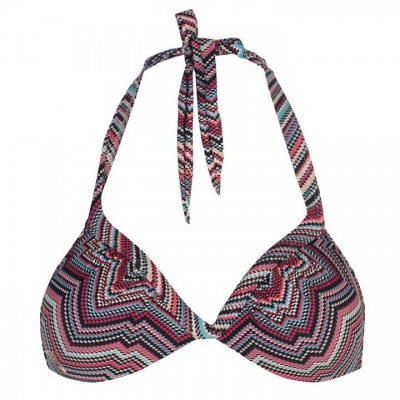 Roxy Print Triangle Bikini Top pentru Femei