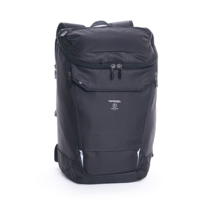 Rucsac Hedgren Black Large with Rain Cover