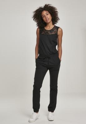 Lace Block Jumpsuit pentru Femei Urban Classics