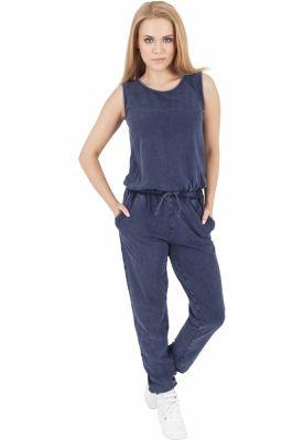 Denim Jersey Sleeveless Jumpsuit pentru Femei Urban Classics