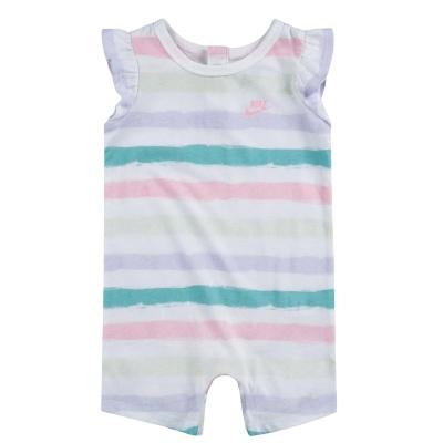 Nike cu Maneca Scurta Romper Suit de fete Bebe