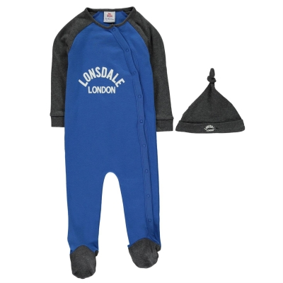 Lonsdale Sleep Suit de baieti Bebe