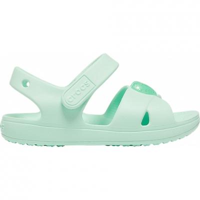 Sandale Sandale Crocs for Classic Cross Strap PS neo turquoise 206245 3TI pentru Copil