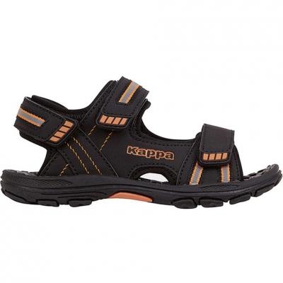Sandale 's Kappa Symi K Footwear black and orange 260685K 1144 Copil pentru Copil
