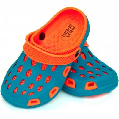 Sandale 's pool Aqua-speed Silvi kol 01 blue orange Copil