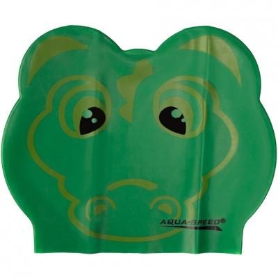 Seapca Swimming  Aqua-Speed Zoo Latex Crocodile green