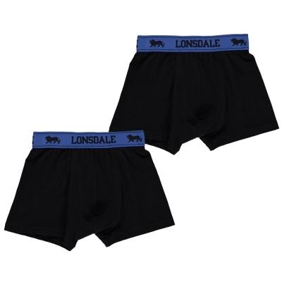 Lonsdale 2 Pack Trunk de baieti Junior