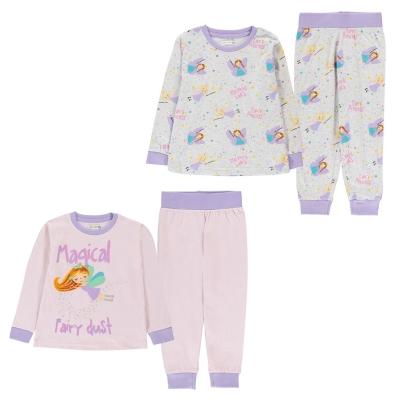 Crafted 2 Pack Pyjama Set Bebe