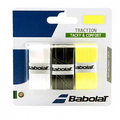 Tape Babolat Traction 3pcs 3 colors 653043 139362