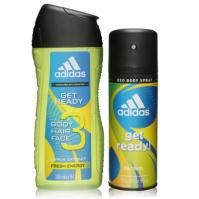 adidas Get Ready Duo Wash Set
