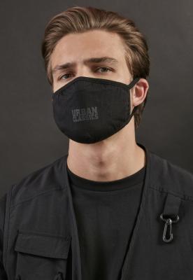 Logo Print Face Mask 2-Pack Urban Classics