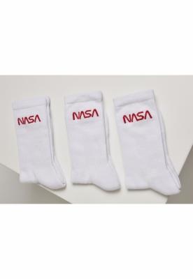 Sosete NASA Worm Logo 3-Pack Mister Tee