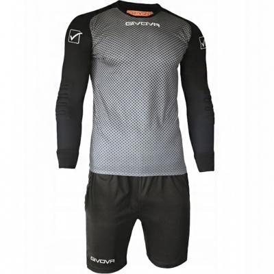 Givova Portar Kit Manchester gray-black KITP008 0910
