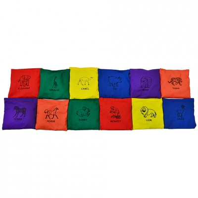 Geanta Animal gym NO10 VEDB-ANM5X5 set of 12 pieces
