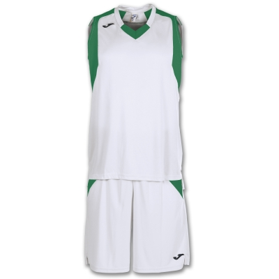 Set Final White-green Sleeveless Joma