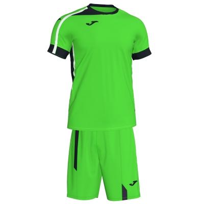 Roma Ii Set Fluor Green-black S/s Joma