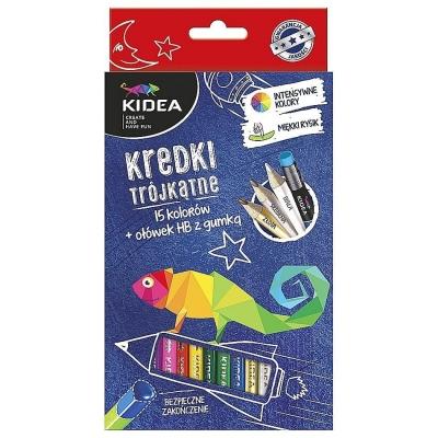 Set Jumbo Creioane Colorate+creioane Perlate+hb