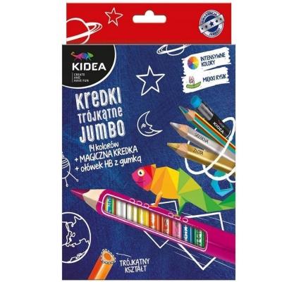 Set Jumbo Creioane Colorate+creion Magic+hb