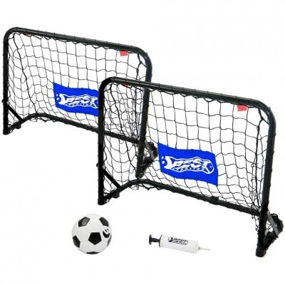 Metal goal set with net, ball, pump 60x45x24 Best Sporting 110895