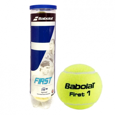 Minge tenis clay Babolat First 4 pcs.