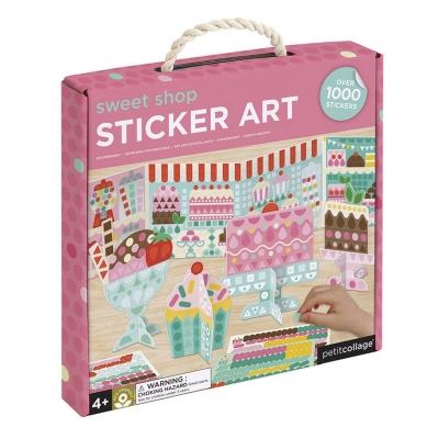Petit Collage Petit Sticker Mosaic Set