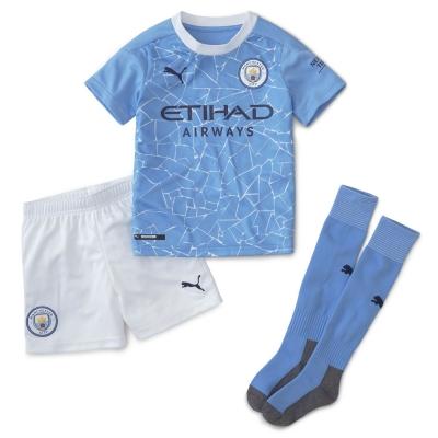 Puma Manchester City Home Mini Kit 2020 2021