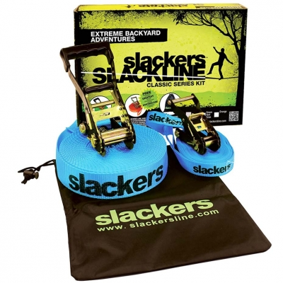 Slackers Slackline Classic Set blue 980010
