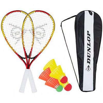 Speedminton Racketball Set Dunlop yellow-red 762091