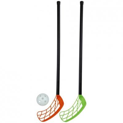Stiga floorball set 2 sticks + 45cm ball