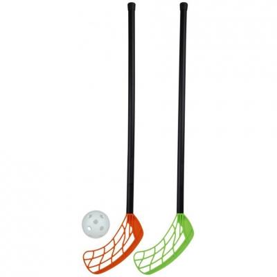 Stiga floorball set 2 sticks + 55cm ball