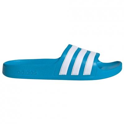 Papuci Casa Adidas Adilette Aqua K blue FY8071 pentru Copil