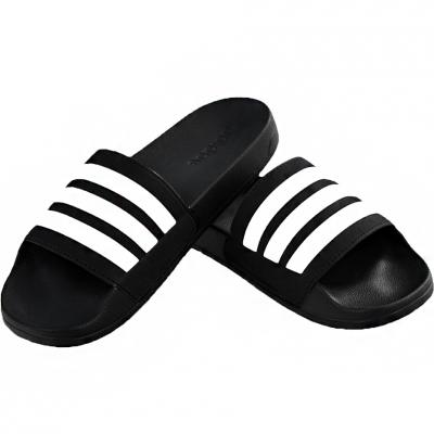 Papuci Casa Adidas Adilette Cloudfoam Plus Stripes black AP9971