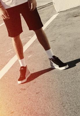 Tenisi panza Printed High Sneaker Urban Classics