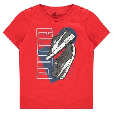 Tricouri Puma Sneaker QT de baieti Junior
