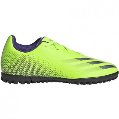 Soccer adidas X Ghosted.4 TF green EG8229 Junior