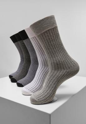 Sosete Stripes and Dots 5-Pack Urban Classics