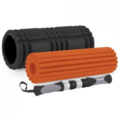 Spokey Mixroll orange-black roller 3in1 928939