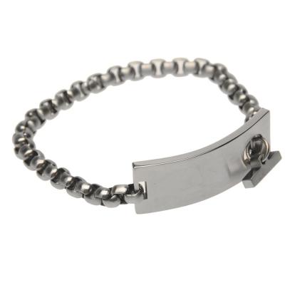 NUFC Stripe Crest Band Ring