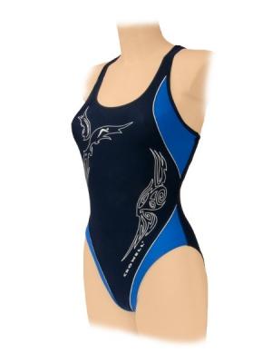 STR? ?? J SWIMMING CROWELL model 160 navy blue pentru Femei