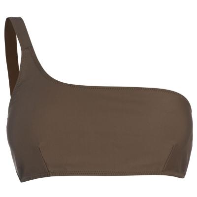 Firetrap Blackseal 1 Shoulder Bikini Top