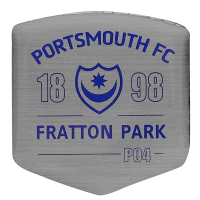 Team Football Crest Pin Badge
