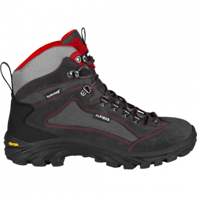 Pantofi sport Trekking Alpinus Dragon High Tactical graphite-red GR43305